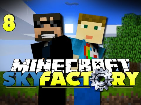 Minecraft Modded SkyFactory 8 – ORGANIZE AND FLY