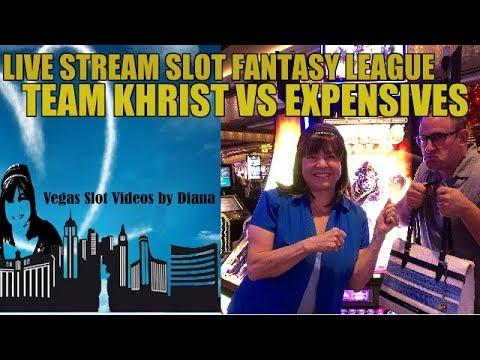 Live slot fantasy league Team Khrist vs The Expensives