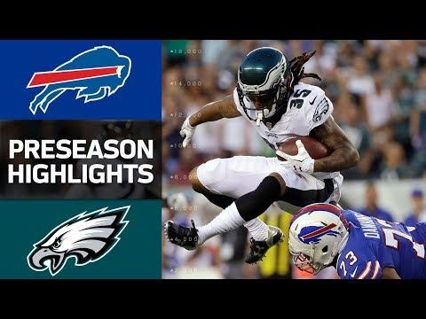 Bills vs. Eagles | NFL Preseason Week 2 Game Highlights - Thời lượng: 3:43.