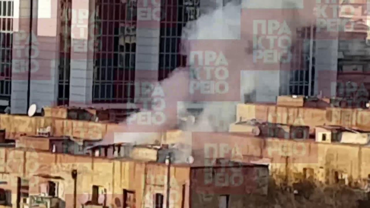 Πυρκαγιά στα προσφυγικά στη Λεωφόρο Αλεξάνδρας