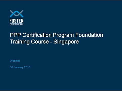 Webinar about CP3P - Foundation Singapore: Richard Foster