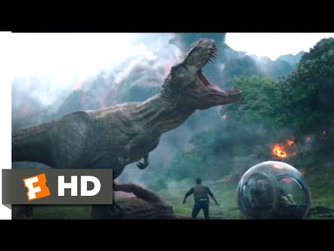 Jurassic World: Fallen Kingdom (2018) - Saved By Rexy Scene (4/10) | Jurassic Park Fansite