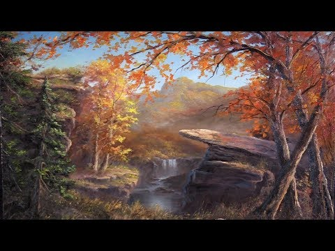 Download Autumn Cliffs | Paint with Kevin® HD Mp4 3GP Video and MP3