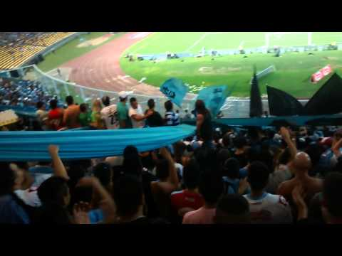 Hinchada de Belgrano desde adentro!! - Los Piratas Celestes de Alberdi - Belgrano