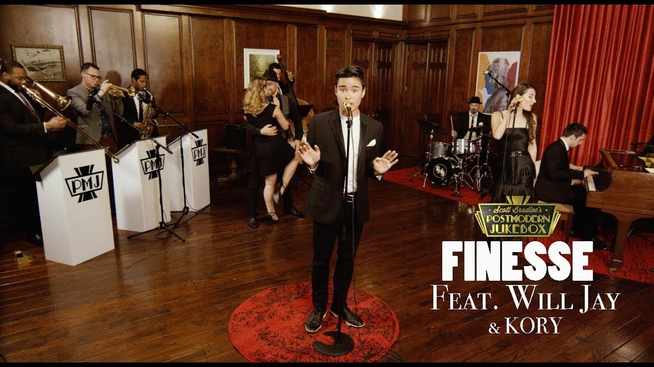Finesse – Bruno Mars ('40s Swing Cover) ft. Will Jay
