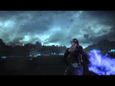 Final Fantasy XIII-2 : une cinématique d'un combat entre Lightning et Caius