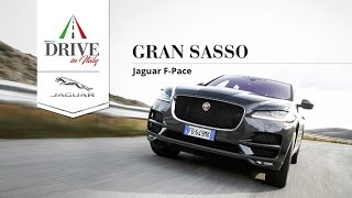 Jaguar F-Pace, all\'ombra del Gran Sasso | Drive in Italy - Video