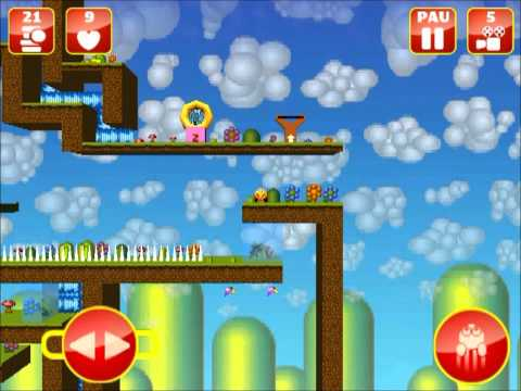 Video of Bob Orange Platform Game