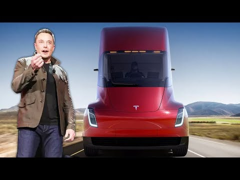 Did Elon's Tesla Semi Unveiling Reveal TOO Much? (Muskwatch w/ Kyle Hill & Dan Casey) (видео)