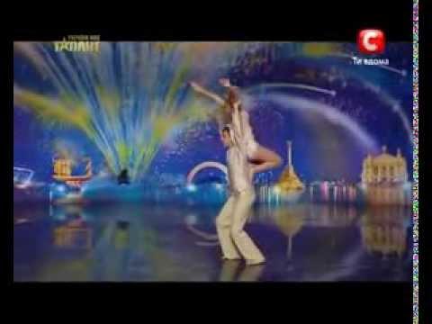 Украина мае талант 4! - ДЕНИС и ЕКАТЕРИНА [31.03.12] | МегаТалант TV (видео)