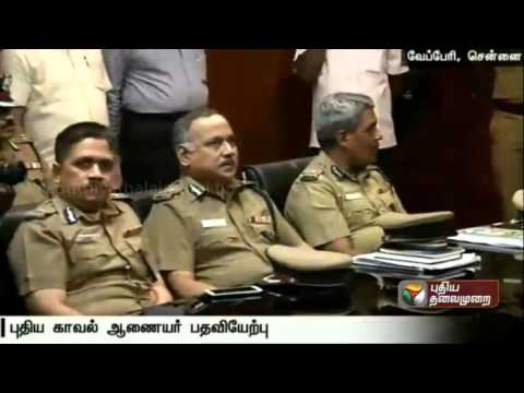 Ashutosh-Shukla-is-appointed-as-Chennai-Police-Commissioner