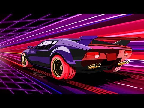 Synthwave/OutRun Classics Mix 🏁 Nightdrive