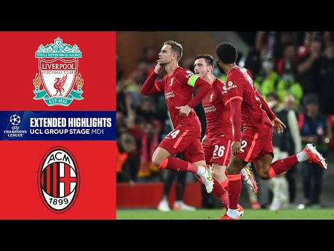 Liverpool vs. Milan: Extended Highlights | UCL Group Stage MD 1 | CBS Sports Golazo