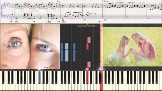 Дина Мигдал - Мамины руки (Ноты для фортепиано) (piano cover)