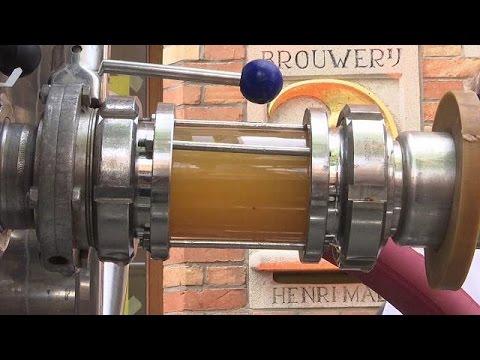 Βέλγιο: Σε λειτουργία ο αγωγός μπύρας στη Μπριζ