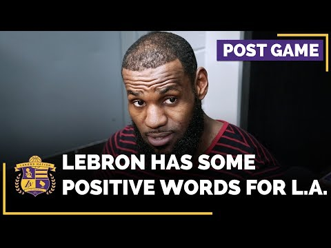 Video: LeBron James Monitoring The Los Angeles Lakers?