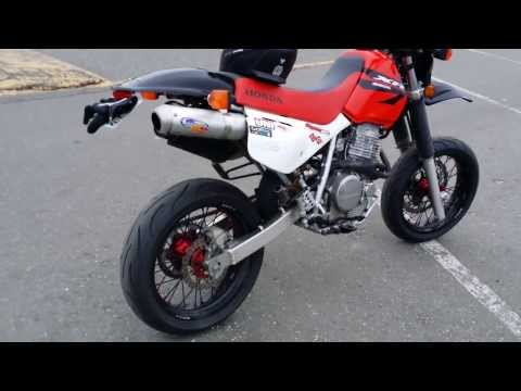 Supermoto honda xr650l фотография