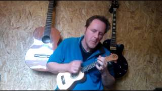 Here comes the sun (George Harrison) performed by Paul Mansell on a soprano ukulele