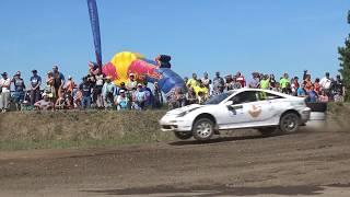 """""""AutoMedia Latvia"""" reportāža: Latvijas Rallijkrosa čempionāta 2.posms Biržu autotrasē """"Baroni"""""""