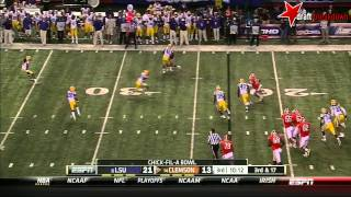 Tajh Boyd vs LSU (2012 Bowl)