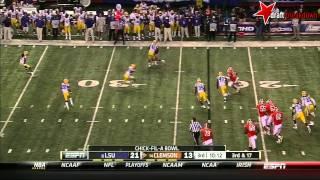 Tajh Boyd vs LSU (2012 Bowl)