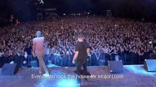 Major Lazer & Stromae chantent «Papaoutai» à Rock en Seine