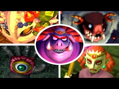 bosses - This video contains all of the boss fights in The Legend of Zelda: A Link Between Worlds. Times for each boss battle: 00:00 Yuga (Eastern Palace) 00:46 Margo...