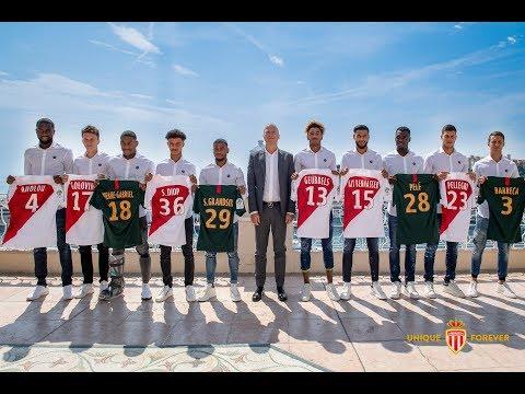 AS Monaco : La présentation des recrues 2018/2019 !