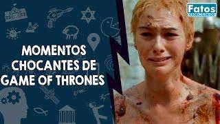 9 momentos chocantes de Game Of Thrones