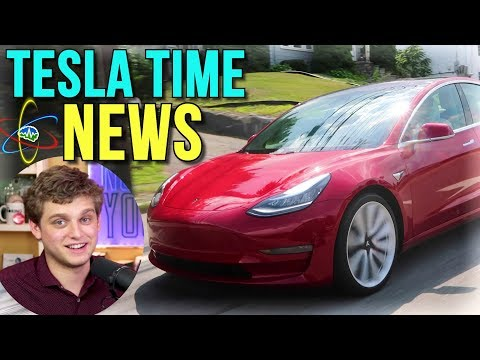 Tesla Time News - Jesse Tests the Model 3 Performance!!