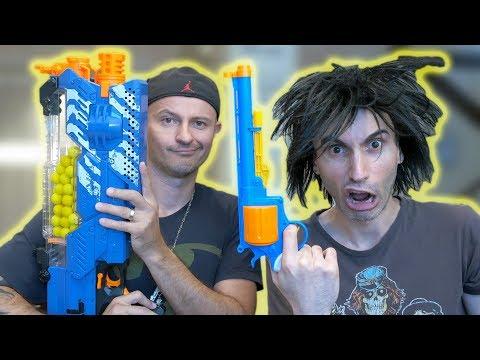$1 NERF Gun vs $170 NERF Gun