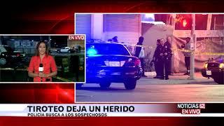 Balacera deja un herido en Vernon y Central-Noticias 62 - Thumbnail