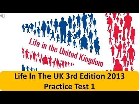 Life In The UK 3rd Edition 2013 Practice Test 1