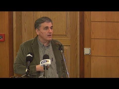 Απόσπασμα από την ομιλία του Ευκλείδη Τσακαλώτου στη Δράμα