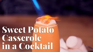 Sweet Potato Casserole in a Cocktail by Chowhound