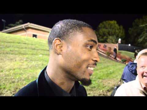Bashaud Breeland Interview 10/26/2013 video.