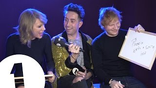 Video Ed Sheeran and Taylor Swift play Eds or Taylz? MP3, 3GP, MP4, WEBM, AVI, FLV Maret 2018