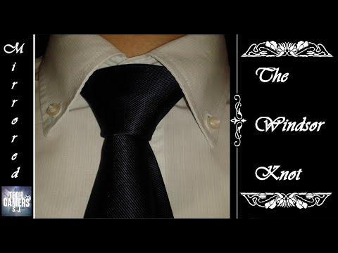 come si fa il nodo della cravatta