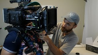 In this video Clint D'Souza and I build up a cinema rig for the BlackMagic URSA Mini 4.6K. You can see which gear Clint chose for his ultimate rig, and we share our experiences of using this outstanding camera on productions. Thanks Clint for doing this!More info: http://tomantosfilms.com/15806/building-ursa-mini-cinema-rig/Clint's YouTube channel: https://www.youtube.com/user/tiptoemango1/Clint's Facebook: https://www.facebook.com/tiptoemango/Here is where you can purchase the cable that Clint refers to in the video: https://goo.gl/8n927fHere is all the gear and where you can get it:BlackMagic URSA Mini 4.6KBH Photo Video https://goo.gl/ExNL0pAdorama https://goo.gl/iloKeHAmazon http://amzn.to/2dA6FgfAmazon UK http://amzn.to/2eb9PaAAmazon Germany http://amzn.to/2dgNdKdeBay https://goo.gl/Ra7TJdViewfinderBH Photo Video https://goo.gl/G2S0t3Adorama https://goo.gl/4dT7wEAmazon http://amzn.to/2dIx0t2Amazon UK http://amzn.to/2eb9d51Amazon Germany http://amzn.to/2d4QVBheBay https://goo.gl/dWpGjwLanParte URSA Mini Professional Shoulder KitAmazon http://amzn.to/2e3dJntAmazon Germany http://amzn.to/2et5AeMBH Photo Video https://goo.gl/nY2SNaeBay https://goo.gl/JgcLDJLanParte URSA MINI Top HandleAmazon http://amzn.to/2eDHMnSAmazon Germany http://amzn.to/2dflOr6BH Photo https://goo.gl/VtGXFfeBay https://goo.gl/vVmZGqLanParte URSA MINI Extension ArmAmazon http://amzn.to/2dVQejvBH Photo https://goo.gl/X9VZlOeBay https://goo.gl/g1znMAHere is the SSD I recommend getting for the URSA cameras Samsung 850 EVO 500GB SSDAmazon http://amzn.to/2eir9uTAmazon UK http://amzn.to/2e9XRy8Amazon Canada http://amzn.to/2dGlNZ4Amazon Germany http://amzn.to/2dYFAZmeBay https://goo.gl/RWgPMVStarTech eSATAp 2.5-Inch SATA III SSD Enclosure Amazon http://amzn.to/2dVPQlcAmazon UK http://amzn.to/2dEulQbAmazon Canada http://amzn.to/2eGj5asAmazon Germany http://amzn.to/2ectdE8eBay https://goo.gl/RJGViNCFAST eSATA DATA Breakout CableAmazon http://amzn.to/2eipu8ueBay https://goo.gl/6f2wm4Maxoak V-Mount Batte