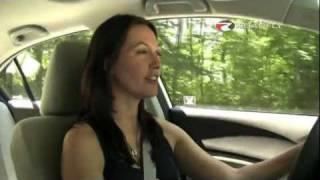 Honda Civic EX 2012 Test Drive&Car Review By RoadflyTV With Elizabeth Kreft