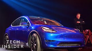 How Tesla's Model Y SUV Is Different From The Model X And Model 3