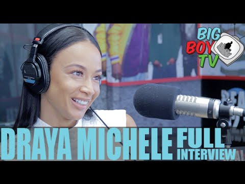Draya Michele Chats About Basketball Wives, Orlando Scandrick, And More! (Full Interview) | BigBoyTV