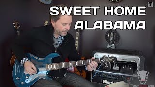 How to Play Sweet Home Alabama Guitar Lesson