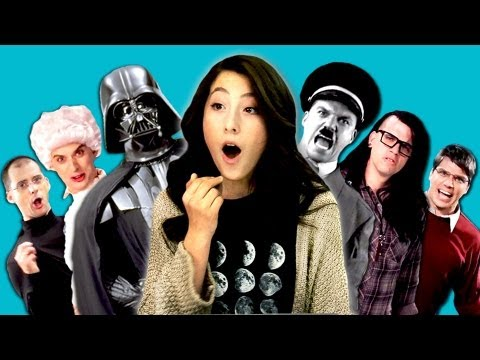 Rap - Epic Rap Battles Bonus Video: http://goo.gl/9CFlQ SUBSCRIBE! New vids every Sun & Thu: http://bit.ly/TheFineBros Watch all episodes of REACT: http://goo.gl/4...