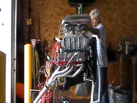 blower - This is a blown 357 cubic inch small block Chevy engine. I have built several engines over the years, but, this is my first blower motor. It is a .040 over b...