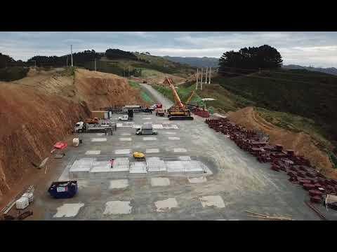 Cannons Creek bridge construction update – March 2018