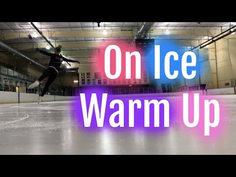 On Ice Warm Up | Lessons With Eye Katie (видео)