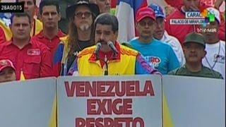 O presidente da Venezuela, Nicolás Maduro, anunciou nesta sexta-feira o fechamento de um segundo trecho da fronteira com a Colômbia no estado de Táchira.