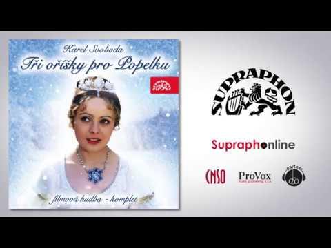 Český národní symfonický orchestr umí potěšit! Nahrál na CD hudbu z pohádky Tři oříšky pro Popelku
