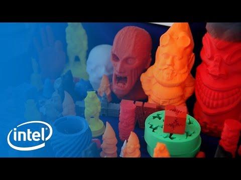 GorillaMaker 3D Printing   Meet The Makers   Intel